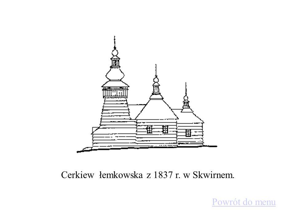 Przykład budownictwa sakralnego, kościół parafialny z XV w. w Dębnie Podhalańskim Powrót do menu