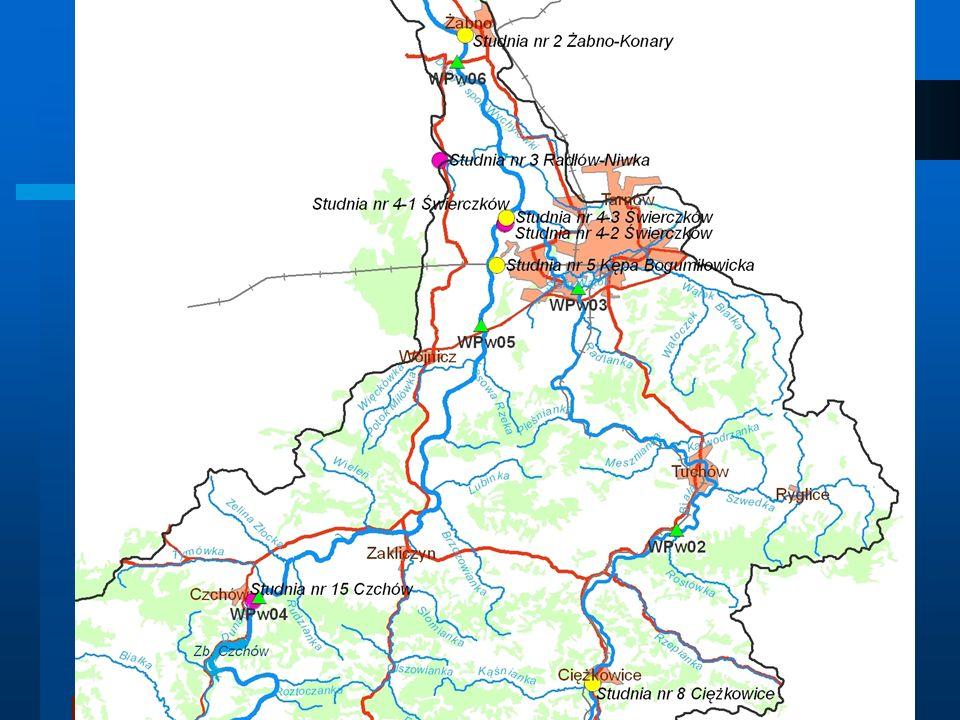 Wody podziemne Lokalizacja sond