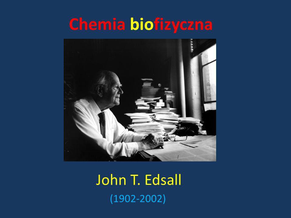 John T. Edsall (1902-2002) Chemia biofizyczna