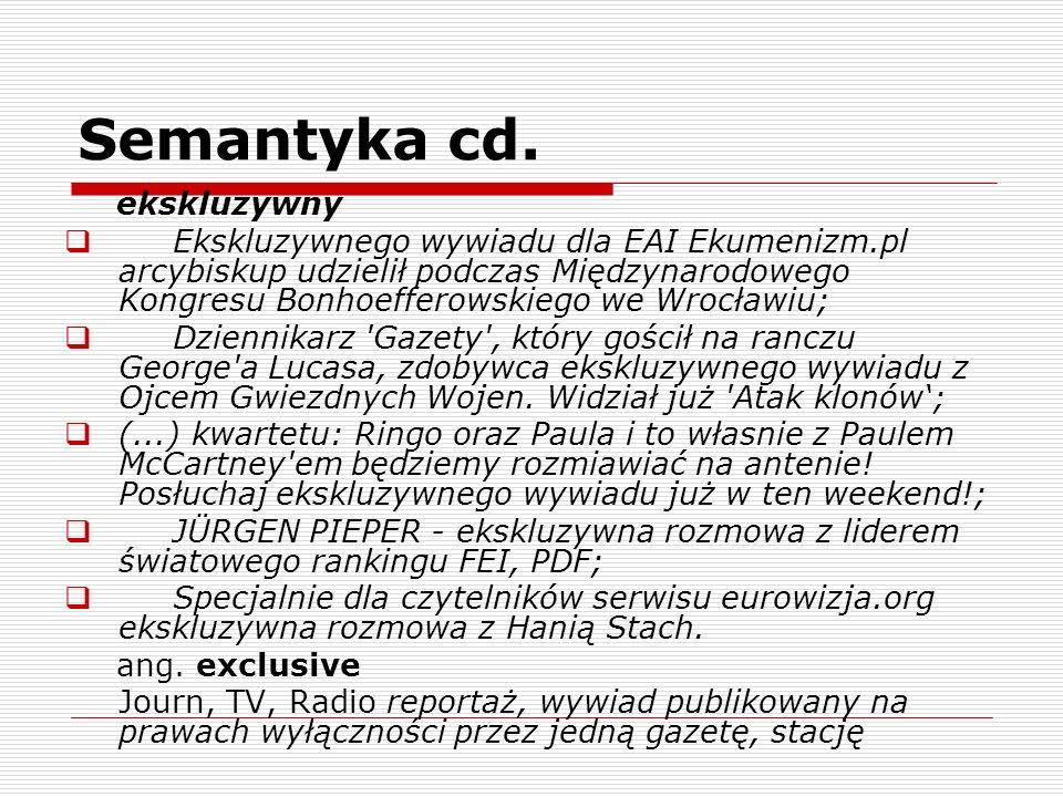 Semantyka cd. ekskluzywny Ekskluzywnego wywiadu dla EAI Ekumenizm.pl arcybiskup udzielił podczas Międzynarodowego Kongresu Bonhoefferowskiego we Wrocł