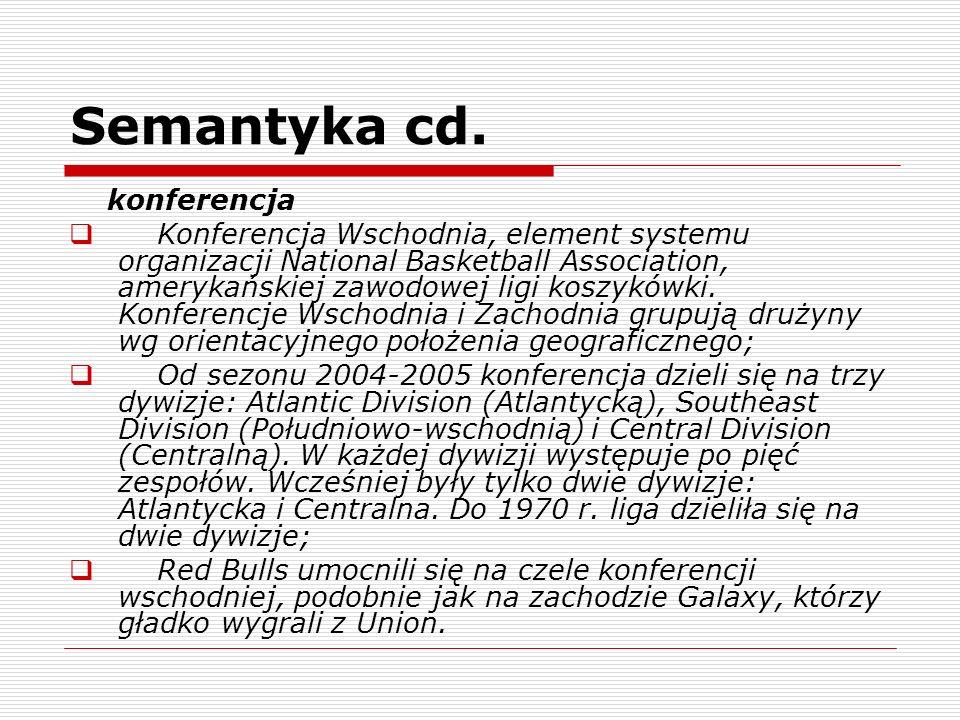 Semantyka cd.