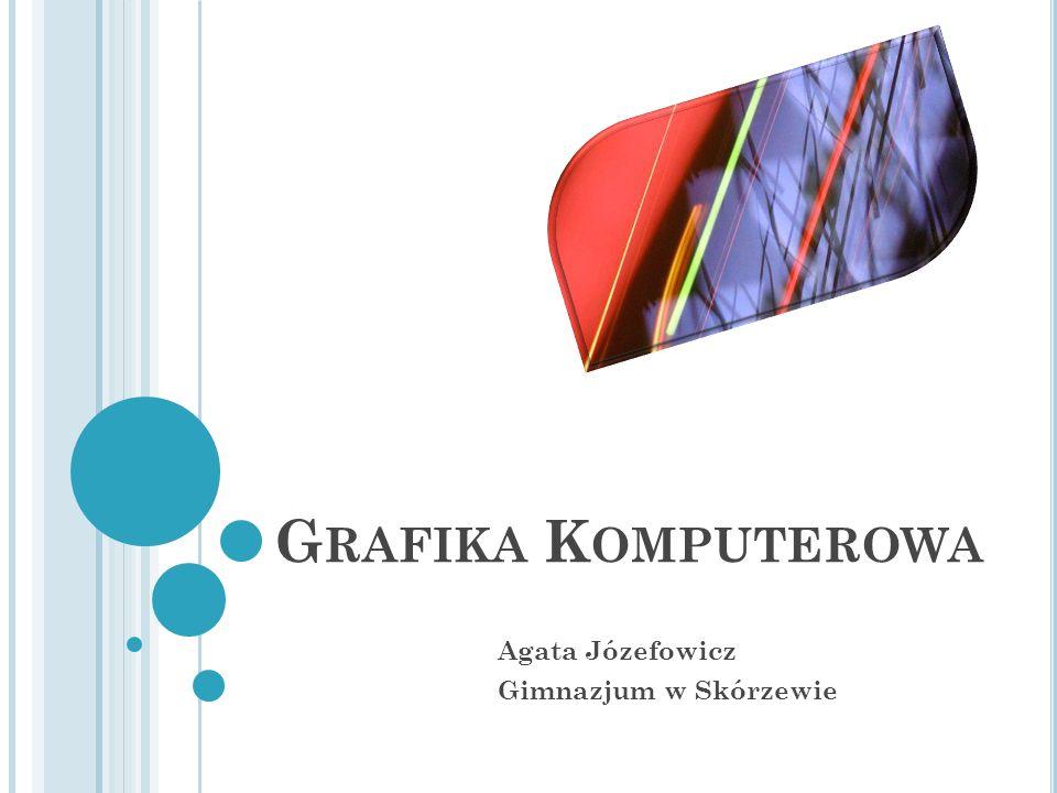 G RAFIKA K OMPUTEROWA Agata Józefowicz Gimnazjum w Skórzewie