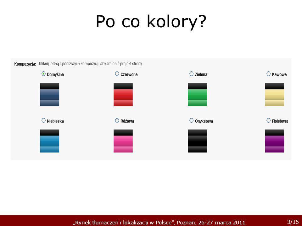 4/15 Rynek tłumaczeń i lokalizacji w Polsce, Poznań, 26-27 marca 2011 Co widzi tłumacz.