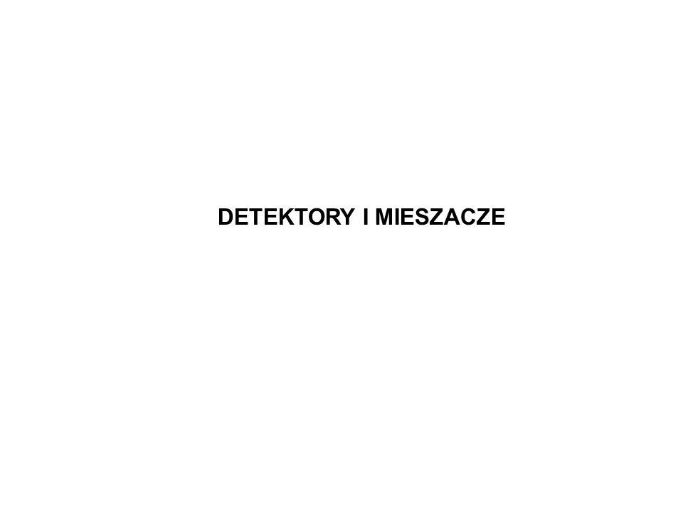 DETEKTORY I MIESZACZE