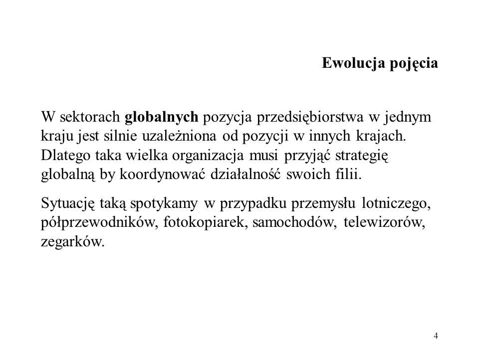 25 Pułapki globalizacji 1.standaryzacja produkcji.