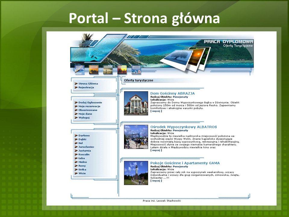 Portal – Strona główna