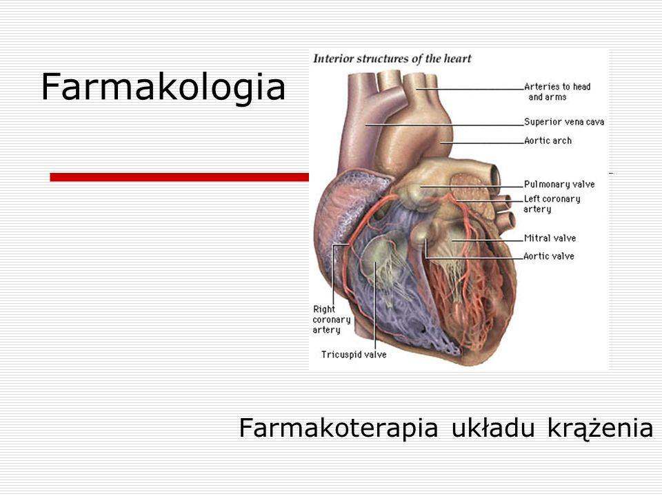 Farmakologia Farmakoterapia układu krążenia