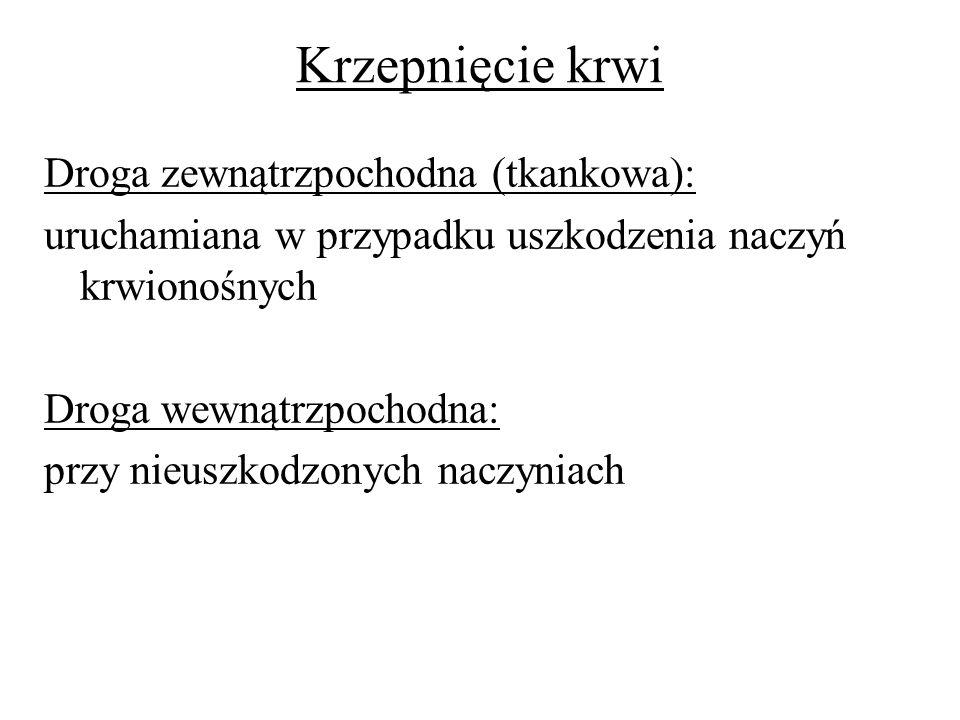 HEPARYNA (W): - profilaktyka zakrzepicy w tt.i żż.