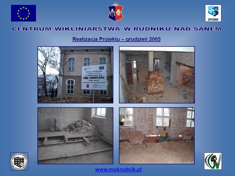 www.mokrudnik.pl Realizacja Projektu – grudzień 2005