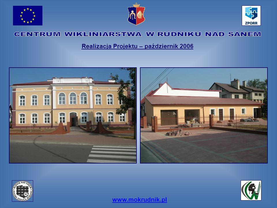www.mokrudnik.pl Realizacja Projektu – październik 2006