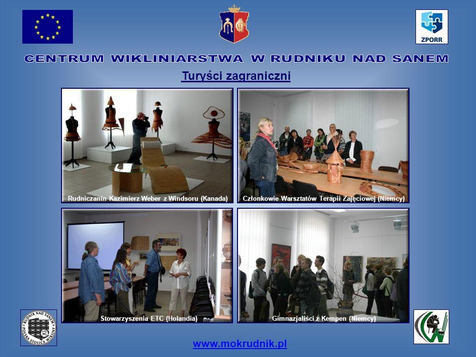 www.mokrudnik.pl Turyści zagraniczni Stowarzyszenia ETC (Holandia) Gimnazjaliści z Kempen (Niemcy) Członkowie Warsztatów Terapii Zajęciowej (Niemcy)Ru
