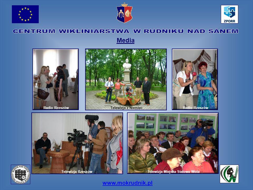 www.mokrudnik.pl Media Telewizja RzeszówTelewizja Miejska Stalowa Wola Radio Rzeszów Telewizja z Niemiec
