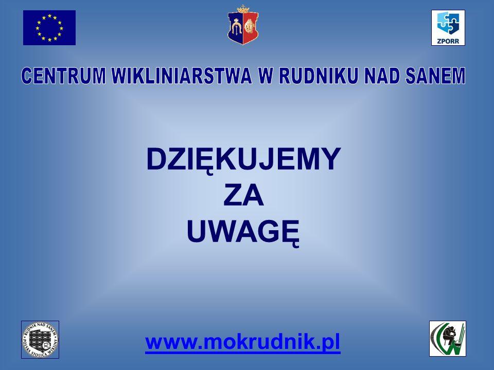 www.mokrudnik.pl DZIĘKUJEMY ZA UWAGĘ