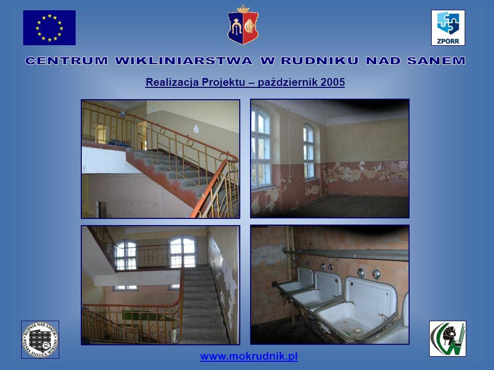 www.mokrudnik.pl Realizacja Projektu – październik 2005