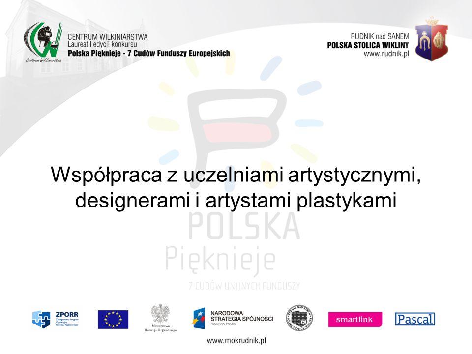 Współpraca z uczelniami artystycznymi, designerami i artystami plastykami