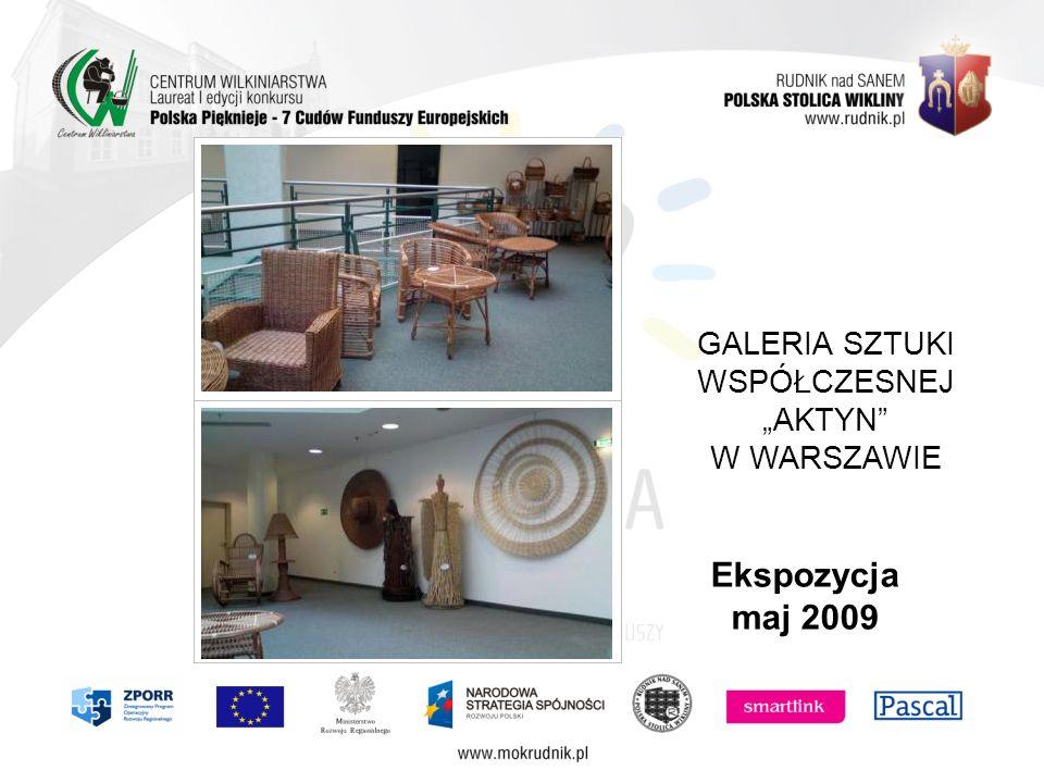 GALERIA SZTUKI WSPÓŁCZESNEJ AKTYN W WARSZAWIE Ekspozycja maj 2009