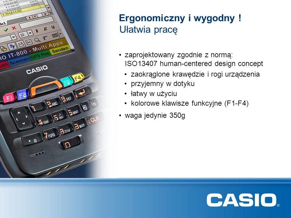 Ergonomiczny i wygodny ! przyjemny w dotyku zaprojektowany zgodnie z normą: ISO13407 human-centered design concept łatwy w użyciu Ułatwia pracę waga j