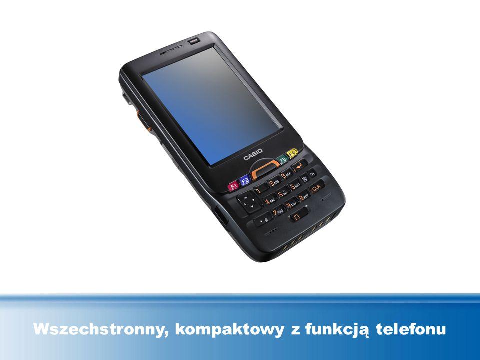 Wszechstronny, kompaktowy z funkcją telefonu