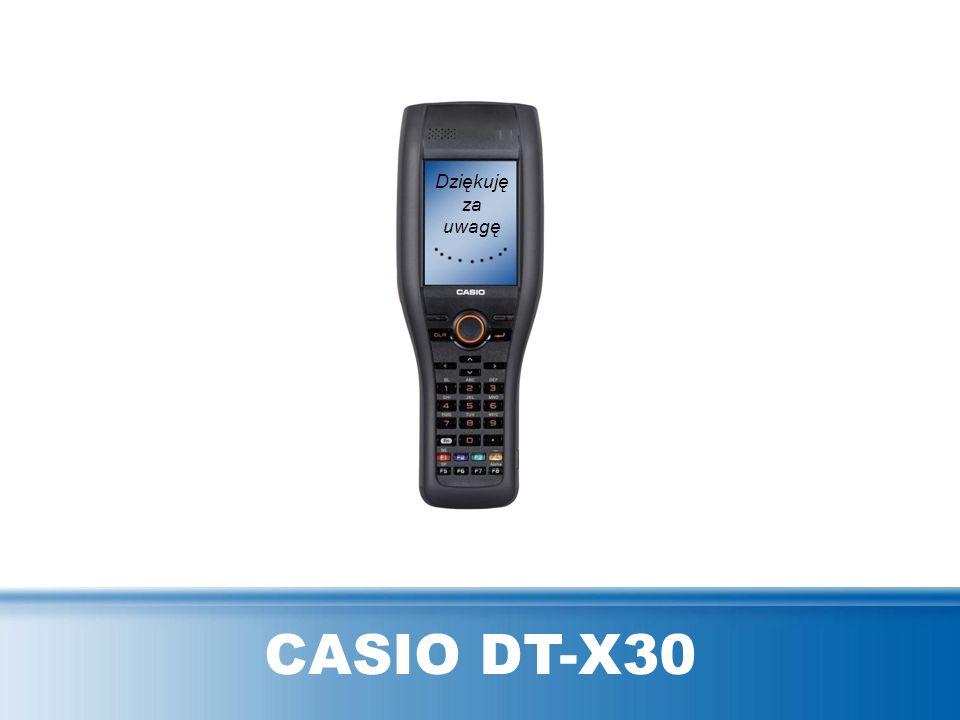 CASIO DT-X30 Dziękuję za uwagę
