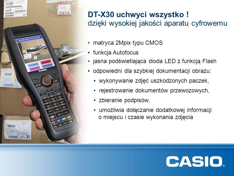 matryca 2Mpix typu CMOS DT-X30 uchwyci wszystko ! funkcja Autofocus jasna podświetlająca dioda LED z funkcją Flash rejestrowanie dokumentów przewozowy