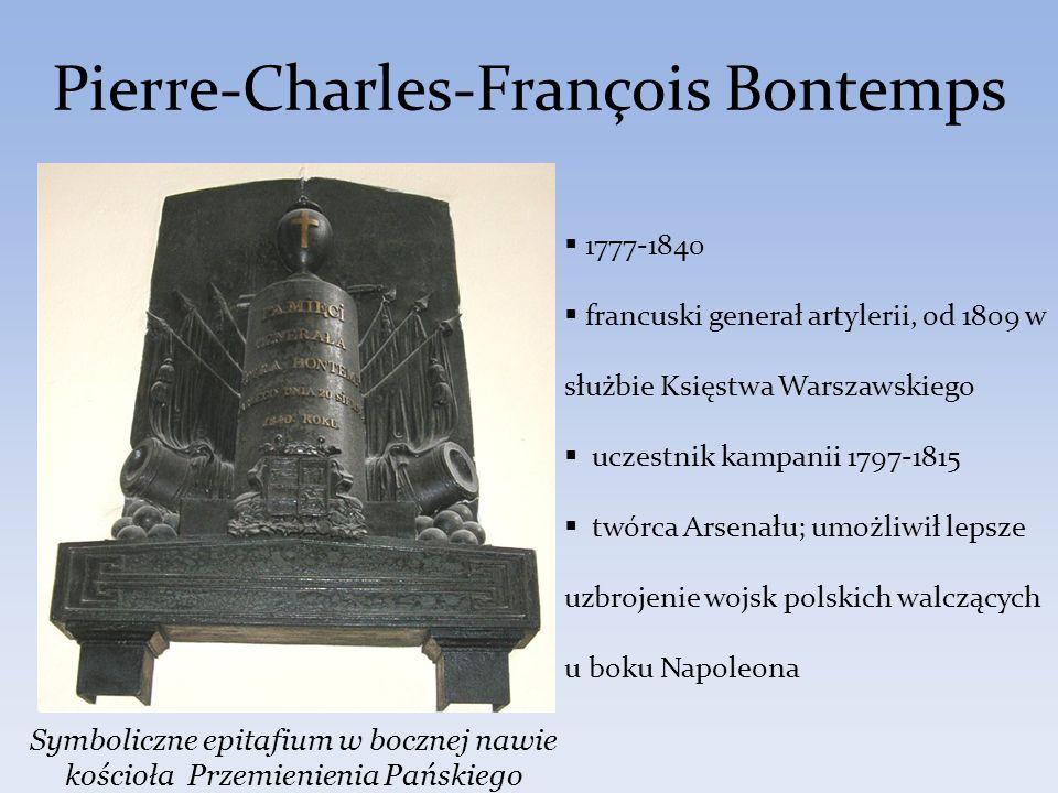 Pierre-Charles-François Bontemps 1777-1840 francuski generał artylerii, od 1809 w służbie Księstwa Warszawskiego uczestnik kampanii 1797-1815 twórca A