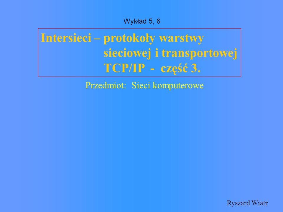 ( Open SPF ) Protokół komunikatów OSPF Otwarta (dostępna) specyfikacja protokołu - możliwość tworzenia własnych implementacji bez konieczności płacenia za licencję trasowanie zależne od typu obsługi (podanego w polu typ obsługi datagramu IP) równoważenie obciążenia możliwy podziała na niezależne obszary, nieznające nawzajem swojej topologii wdrożenie uwierzytelnienia (autentykacja osoby ustalającej reguły)