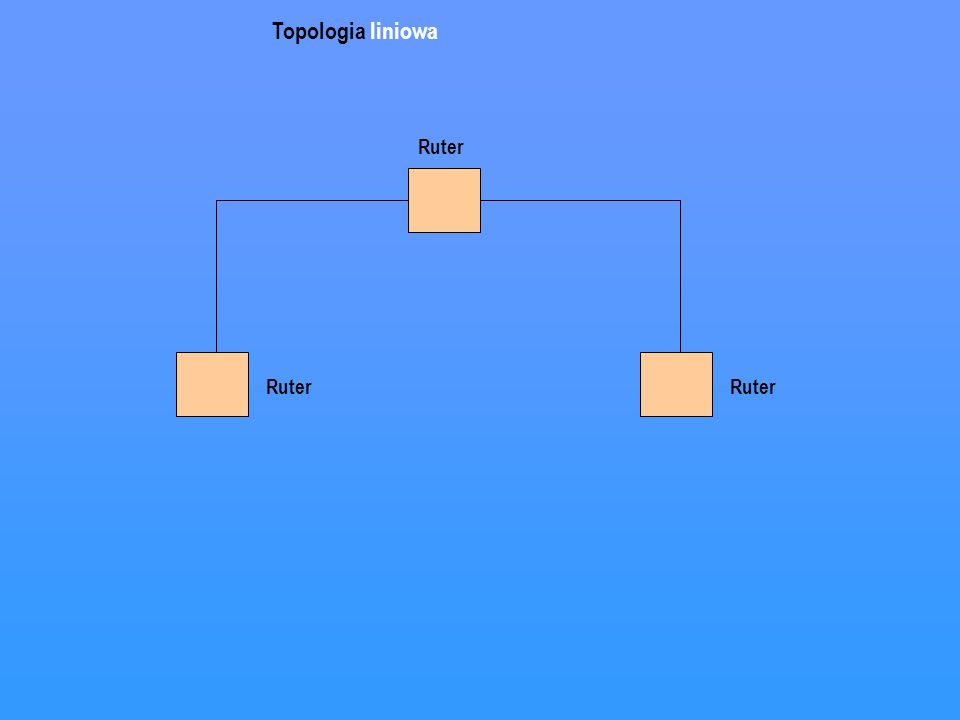 Topologia liniowa Ruter