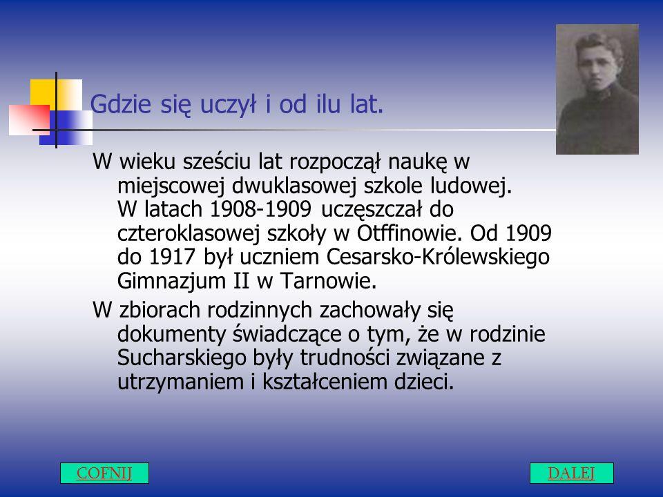 Dnia 11 listopada 1911 roku.Wójt Gręboszowa, Jakub Bojko wystawiając tzw.