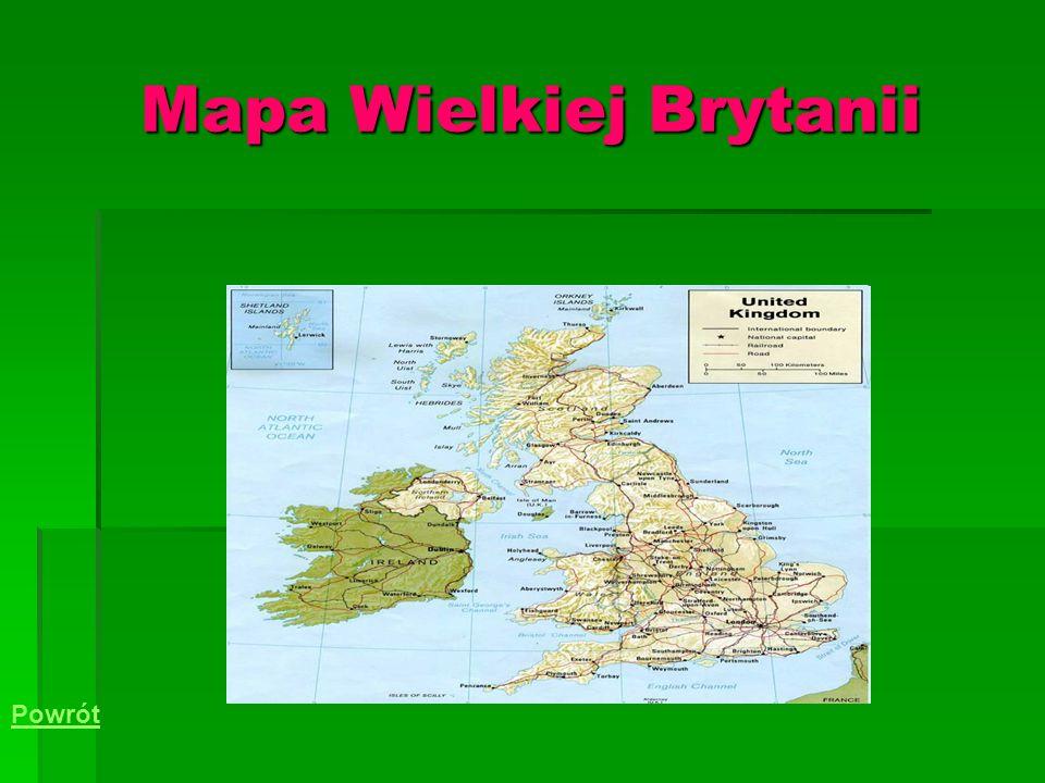 Mapa Wielkiej Brytanii Powrót