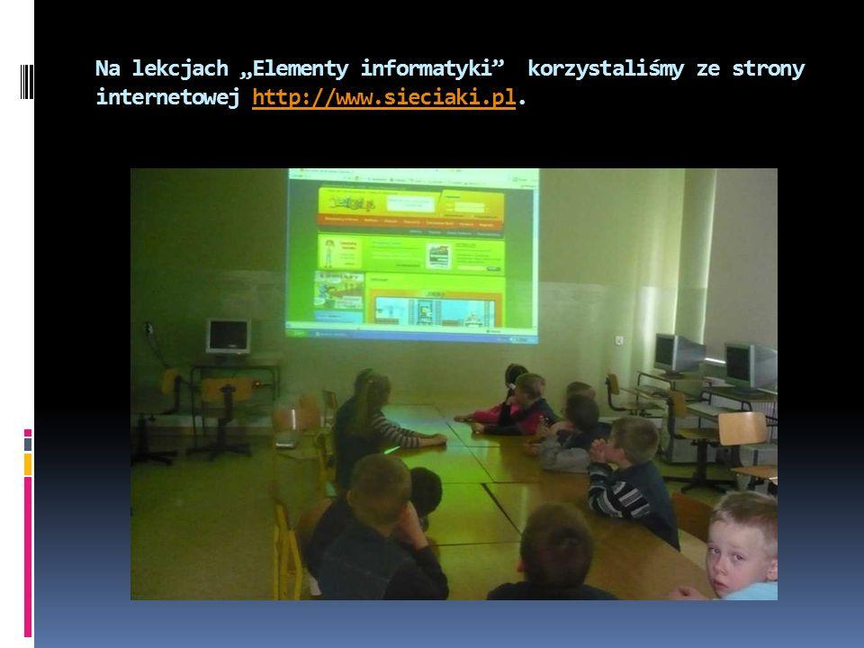 Podczas zajęć z wychowawcami rozmawialiśmy o tym, jak być bezpiecznym w komputerowym świecie.