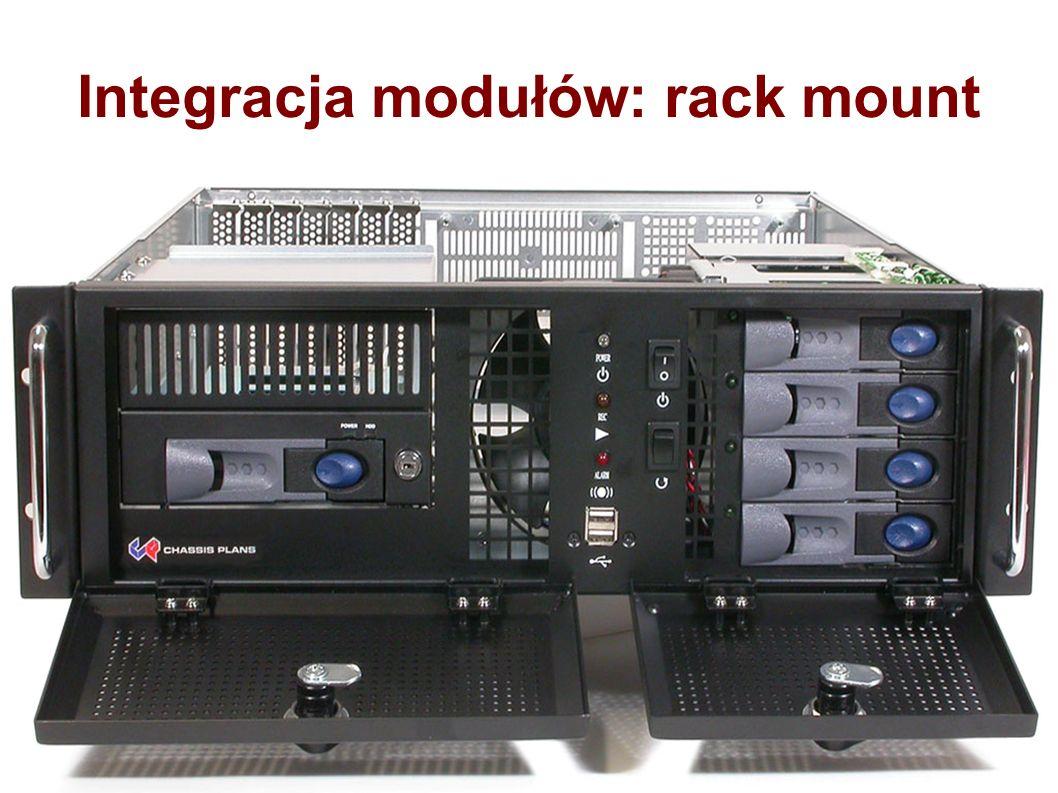 Integracja modułów: rack mount