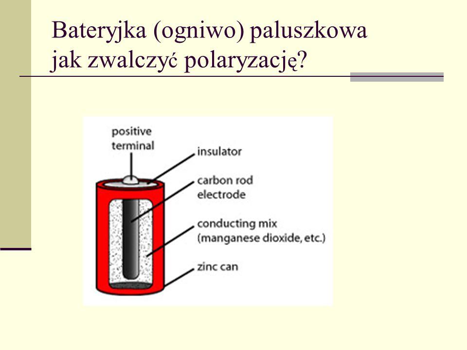 Bateryjka (ogniwo) paluszkowa jak zwalczy ć polaryzacj ę ?
