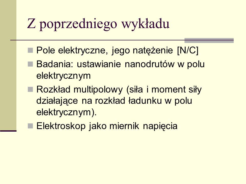 Elektryczno ść i Magnetyzm Wykład: Jan Gaj Pokazy: Tomasz Kazimierczuk/Karol Nogajewski, Tomasz Jakubczyk Wykład trzeci 23 lutego 2010