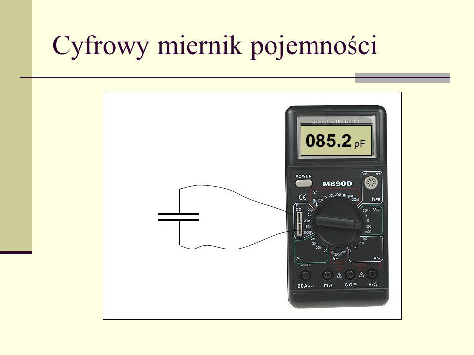 Cyfrowy miernik pojemności 018.0 pF 085.2 pF