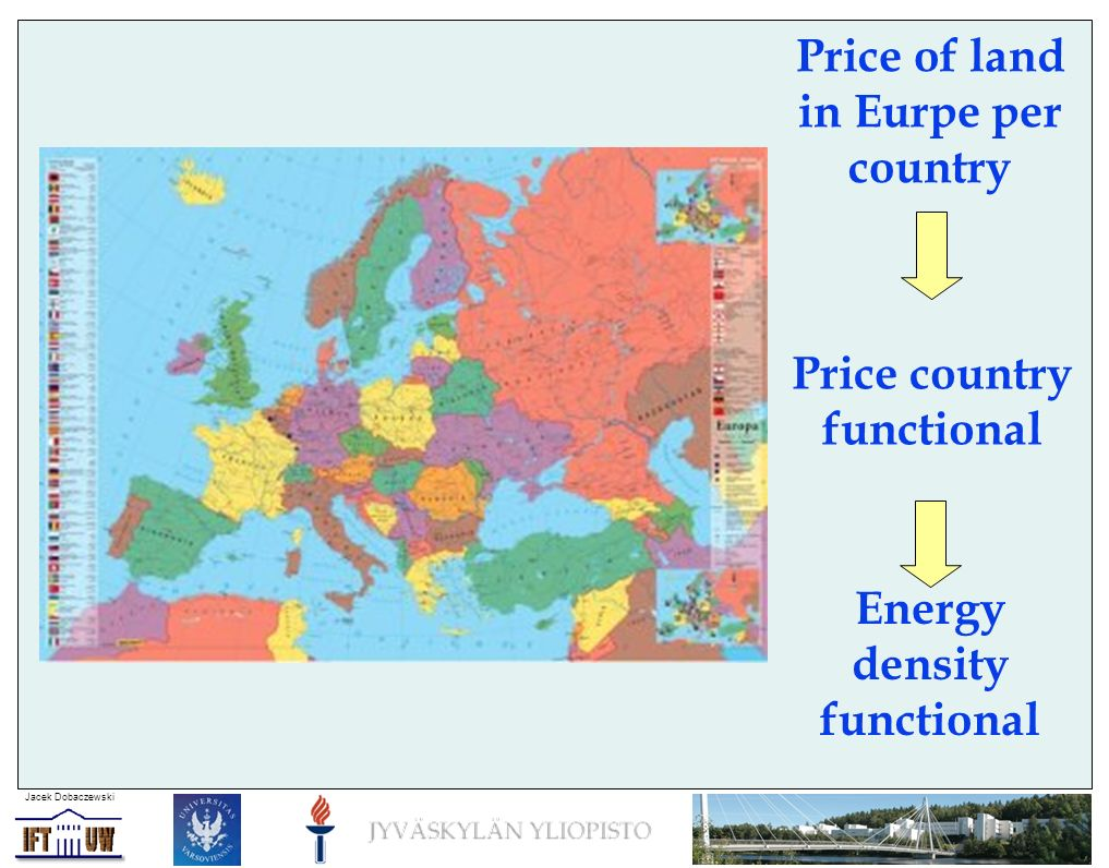 Jacek Dobaczewski Nuclear densities as composite fields