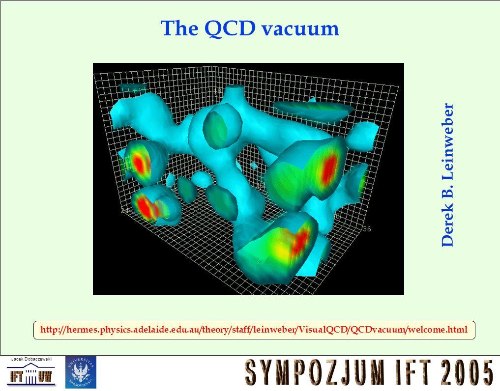 Jacek Dobaczewski http://hermes.physics.adelaide.edu.au/theory/staff/leinweber/VisualQCD/QCDvacuum/welcome.html Derek B. Leinweber The QCD vacuum
