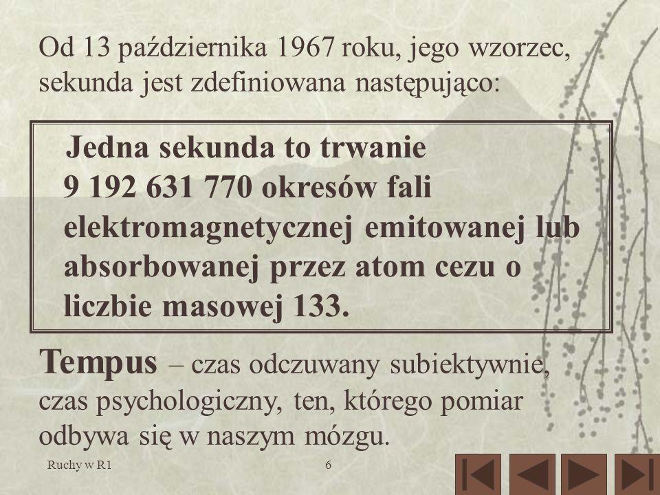 Ruchy w R127 Wszystko w porządku! Teraz, znając definicję pochodnej sprawdzimy wzór (3).