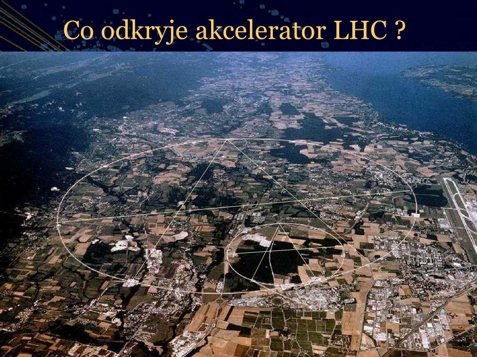 Co odkryje akcelerator LHC ? AA Wszystkie dodatkowe informacje wstaw tutaj