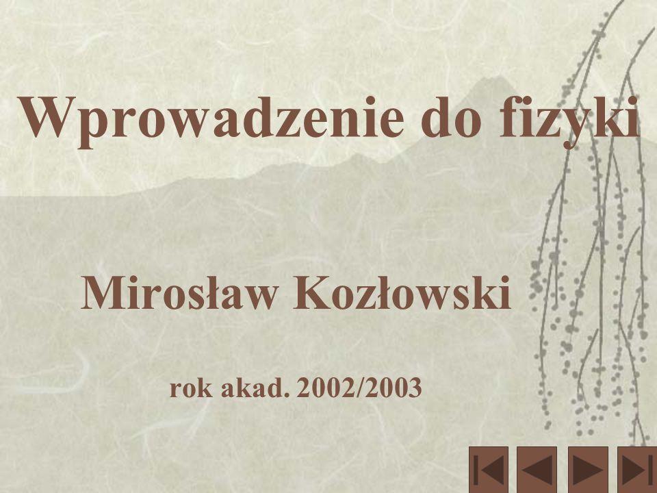 Wstęp do Szczególnej Teorii Względności cz.