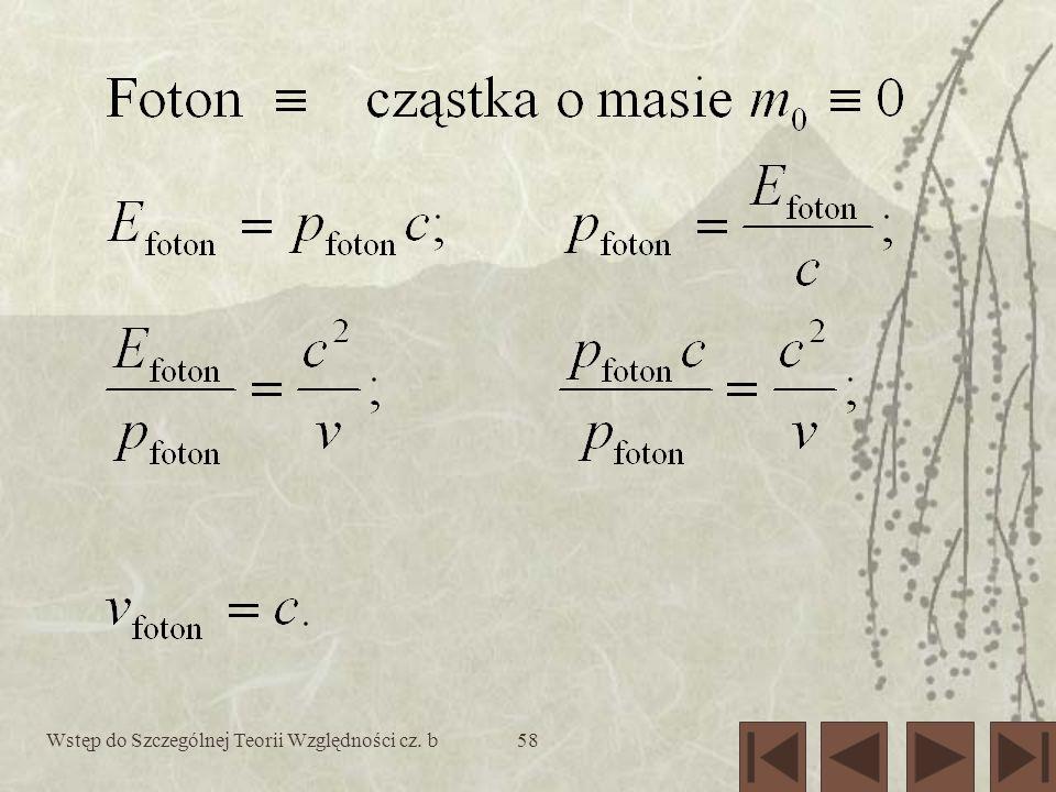 Wstęp do Szczególnej Teorii Względności cz. b58