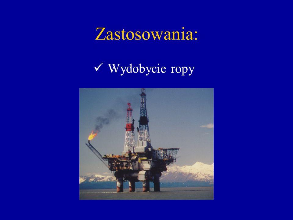Zastosowania: Wydobycie ropy