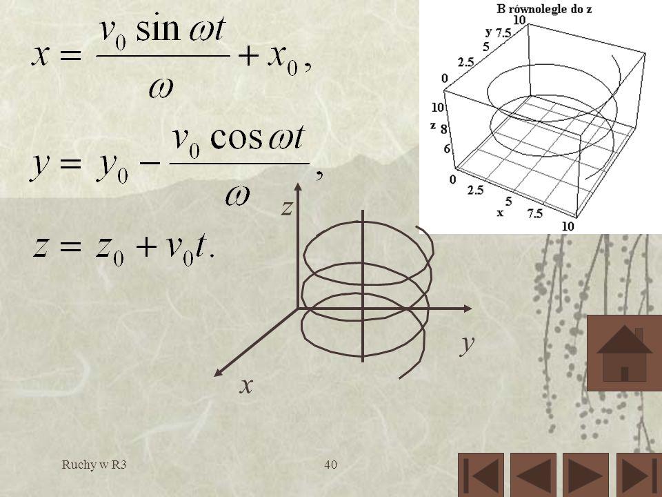 Ruchy w R340 x y z