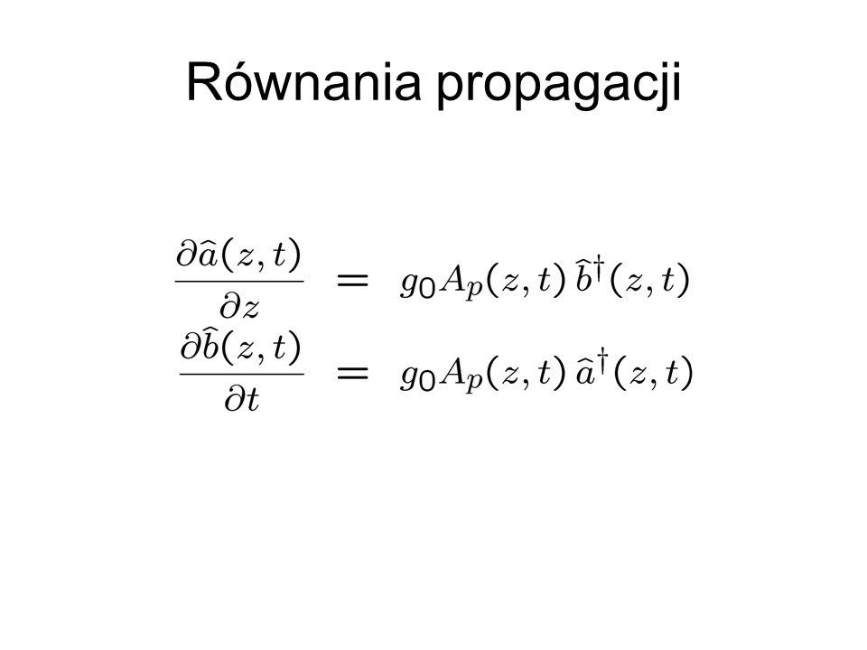 Równania propagacji