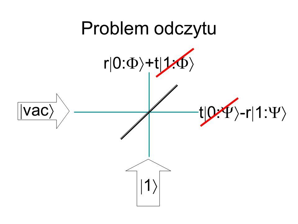 Problem odczytu 1 vac t 0: -r 1: r 0: +t 1: