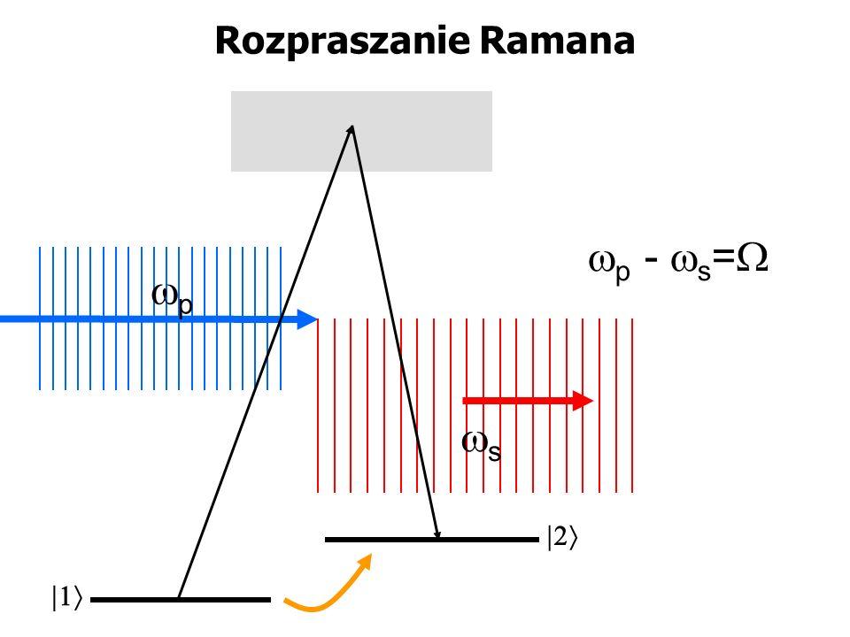 Rozpraszanie Ramana p p - s = s