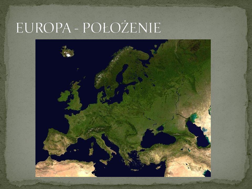 Europa jest najbardziej rozczłonkowaną częścią świata, o silnie rozbudowanej linii brzegowej, której długość wynosi ok.