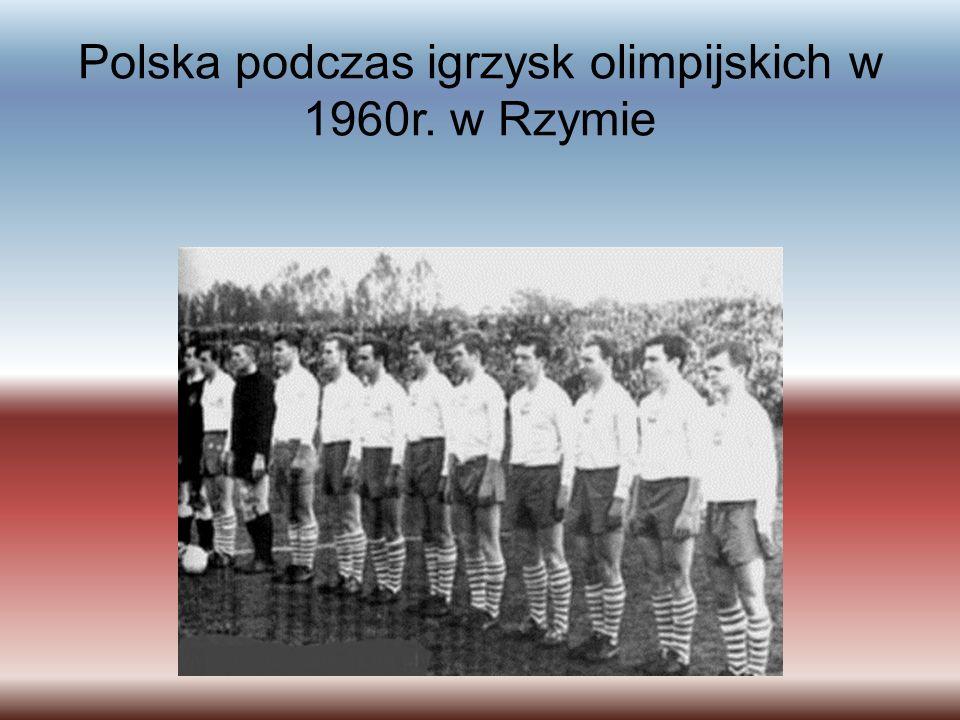 Polska podczas igrzysk olimpijskich w 1960r. w Rzymie