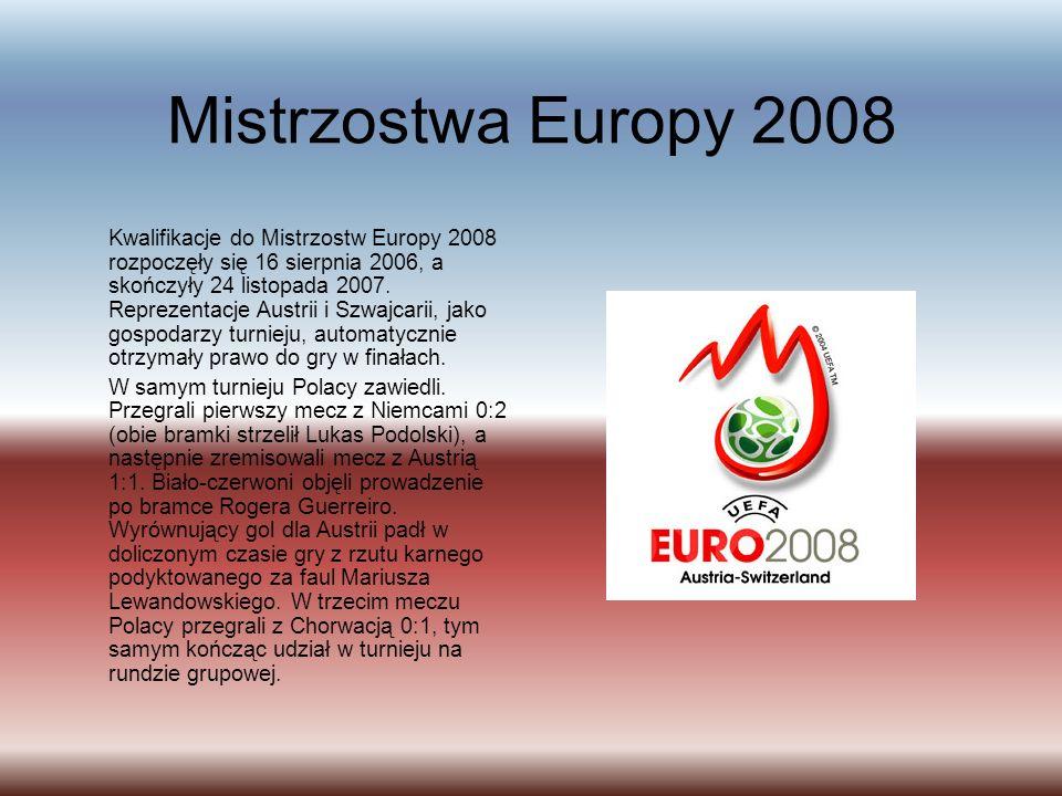 Mistrzostwa Europy 2008 Kwalifikacje do Mistrzostw Europy 2008 rozpoczęły się 16 sierpnia 2006, a skończyły 24 listopada 2007.
