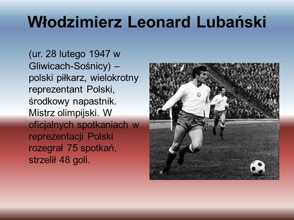 Włodzimierz Leonard Lubański (ur.