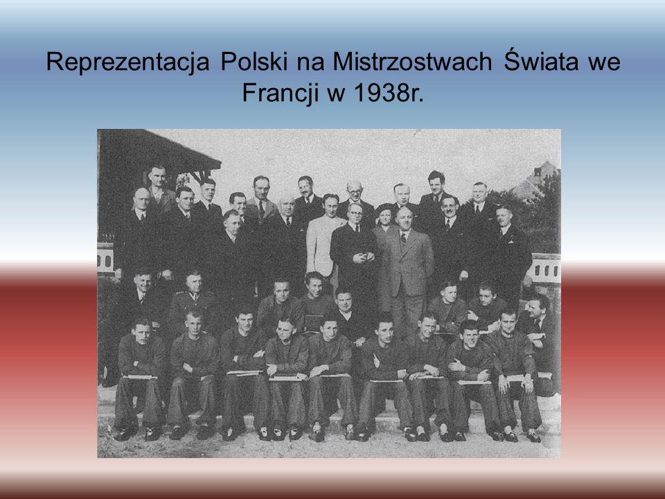 Reprezentacja Polski na Mistrzostwach Świata we Francji w 1938r.